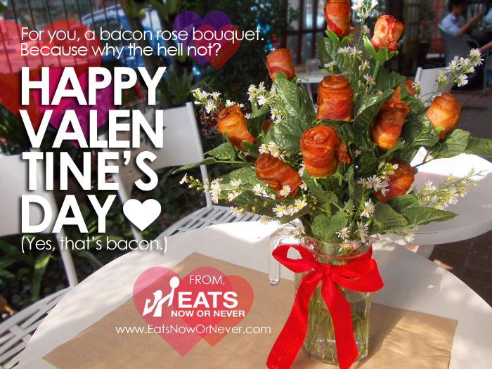 How-To: Say \'I Love You\' with a bacon rose bouquet | Eats Now Or Never