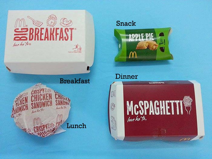 Can you go on a McDonalds diet and lose weight? We put it to