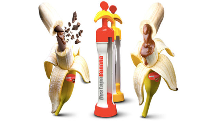 The machine that lets you inject fillings in an unpeeled banana