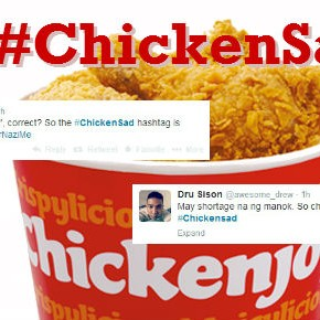 The funniest reactions to Jollibee's #ChickenSad controversy